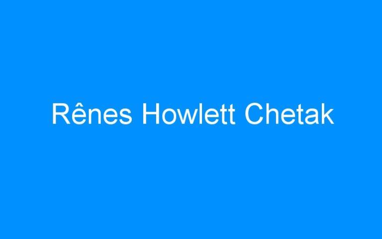 Rênes Howlett Chetak