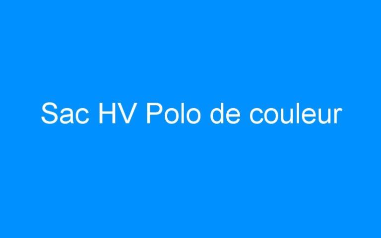 Sac HV Polo de couleur