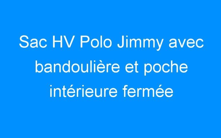Sac HV Polo Jimmy avec bandoulière et poche intérieure fermée