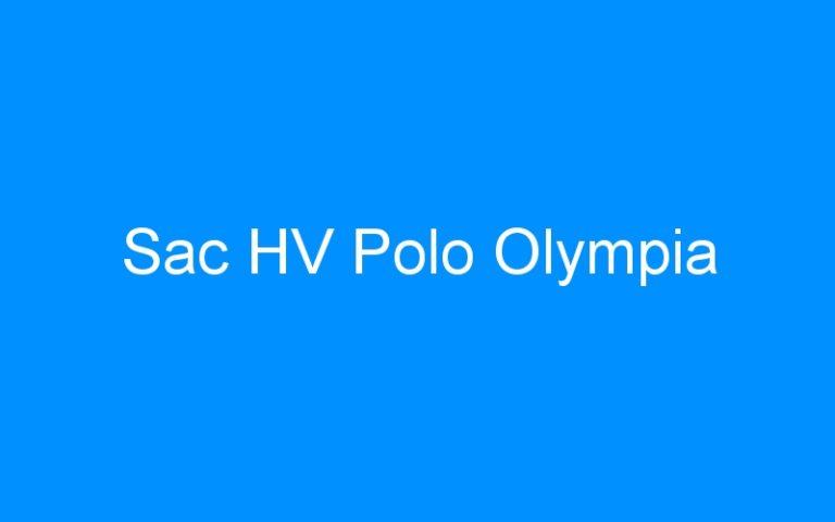Sac HV Polo Olympia