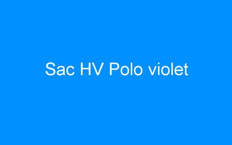 Sac HV Polo violet