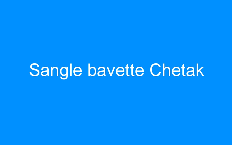 Sangle bavette Chetak