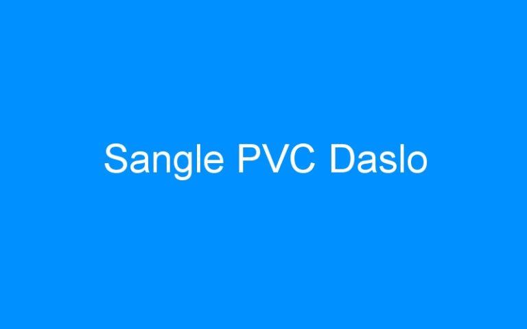 Sangle PVC Daslo