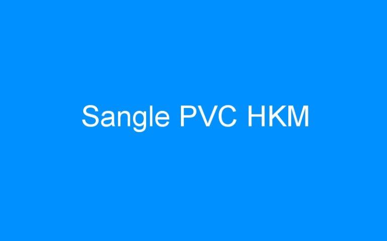 Sangle PVC HKM