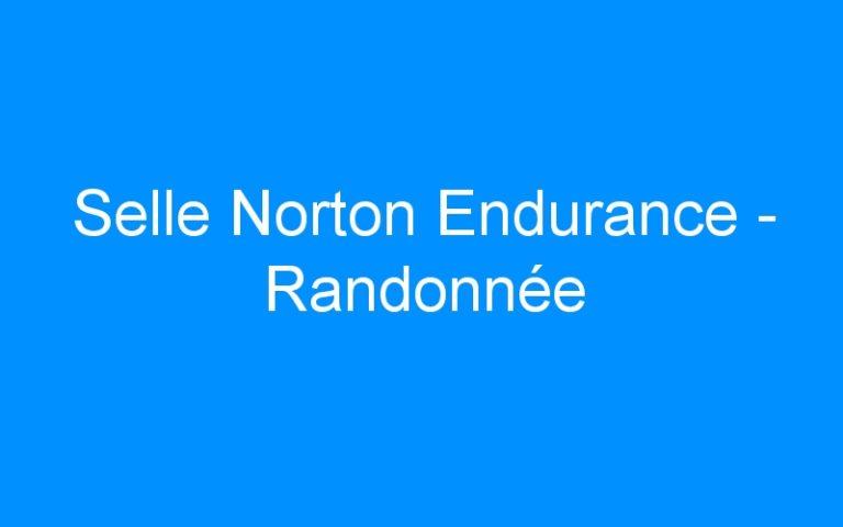 Selle Norton Endurance – Randonnée