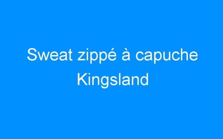 Sweat zippé à capuche Kingsland