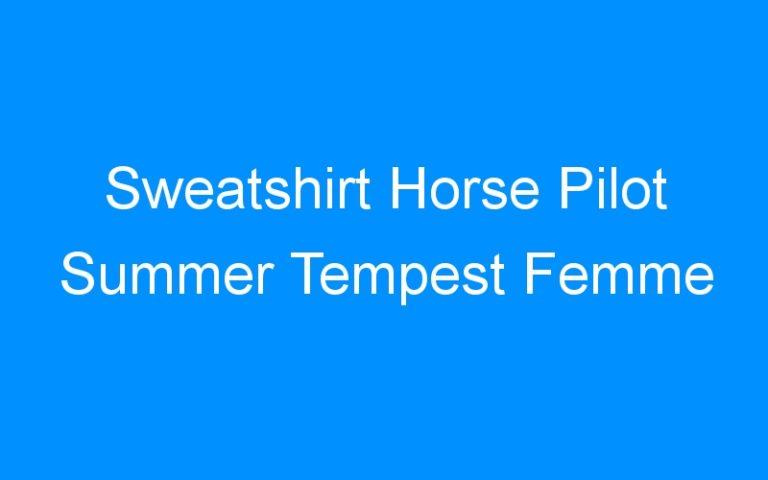 Sweatshirt Horse Pilot Summer Tempest Femme