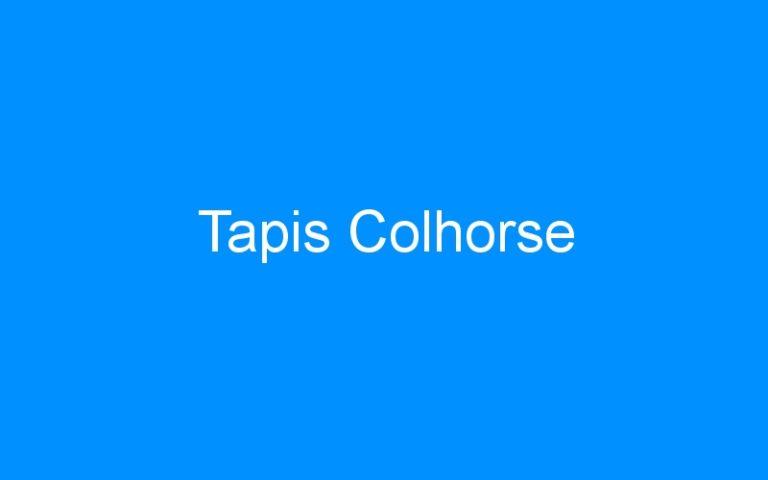 Tapis Colhorse
