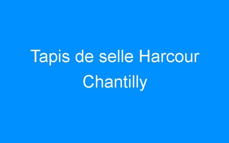 Tapis de selle Harcour Chantilly