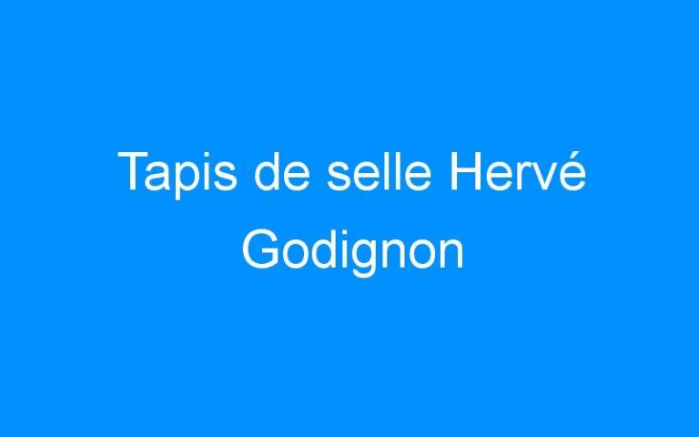 Tapis de selle Hervé Godignon