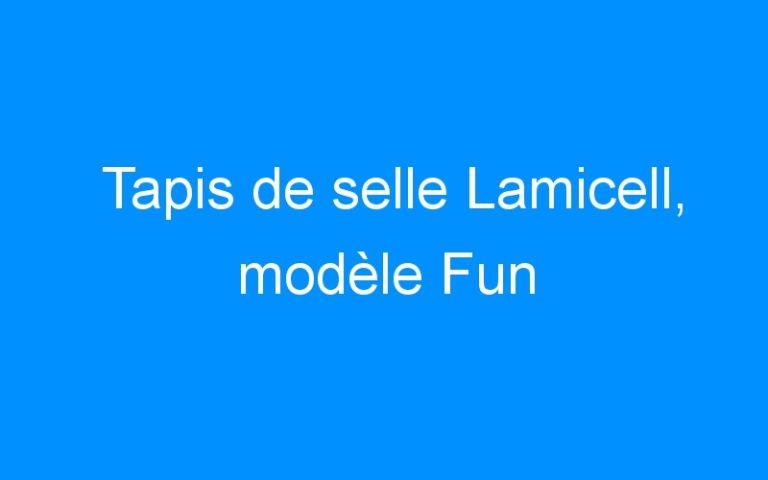 Tapis de selle Lamicell, modèle Fun