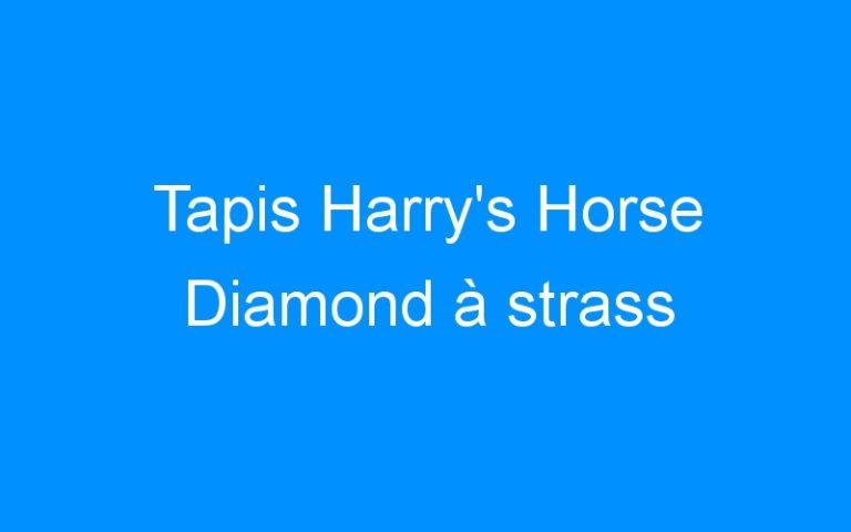 Tapis Harry's Horse Diamond à strass