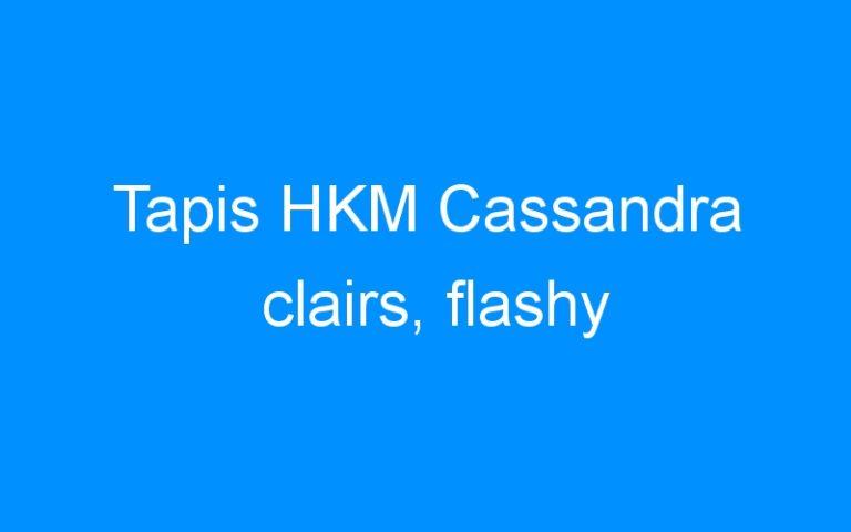 Tapis HKM Cassandra clairs, flashy