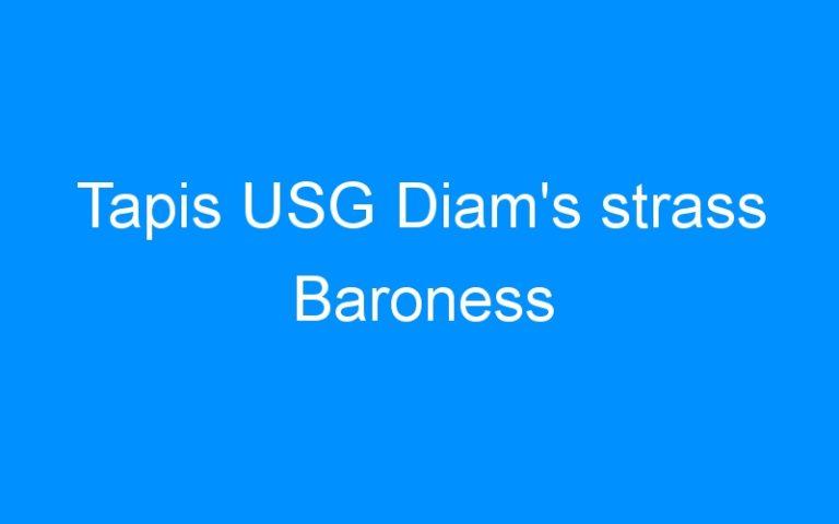 Tapis USG Diam's strass Baroness