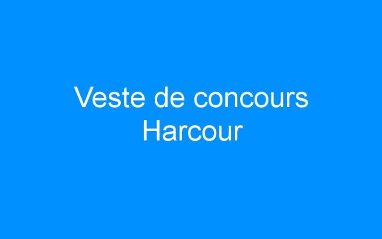 Veste de concours Harcour