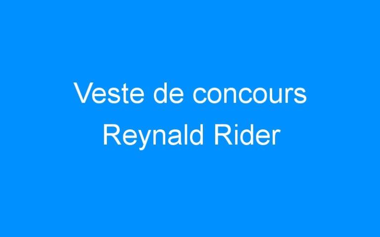 Veste de concours Reynald Rider